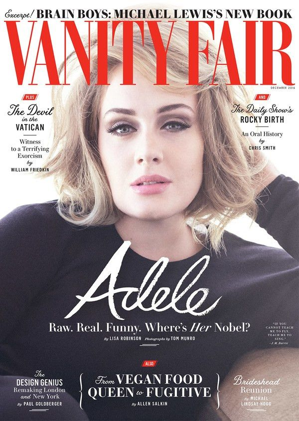 Adele's New Vanity Fair Cover Shoot Is Simply Stunning | WhoWhatWear