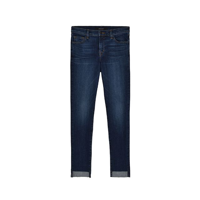 Pictured: J Brand 811 Skinnyin Mesmeric, ($198) If you're new to this trend, try it in a classic dark wash.