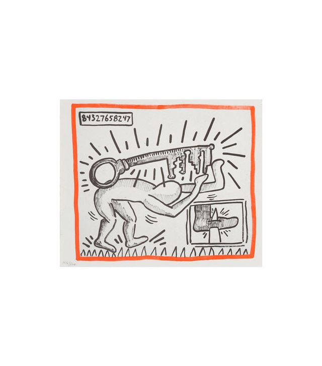 Keith Haring Against All Odds, 1990