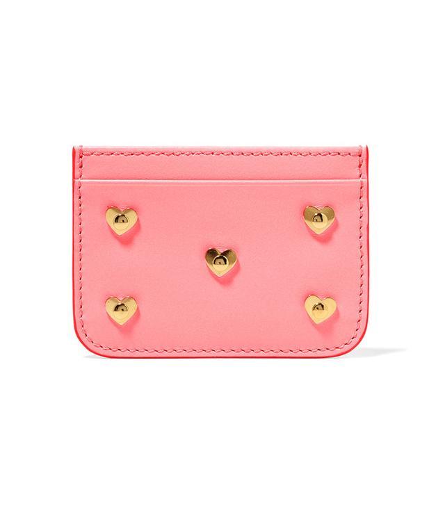 Sophie Hulme Rosebery Embellished Leather Cardholder