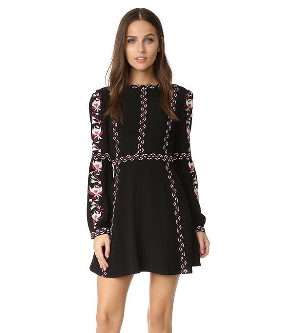 RahiCali Posey Sweetheart Dress