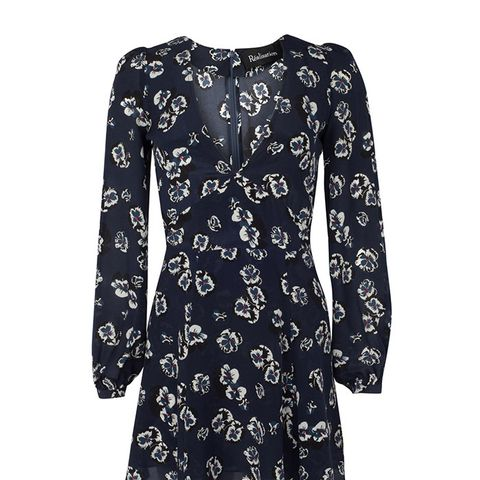 The Kate in Navy Pansy