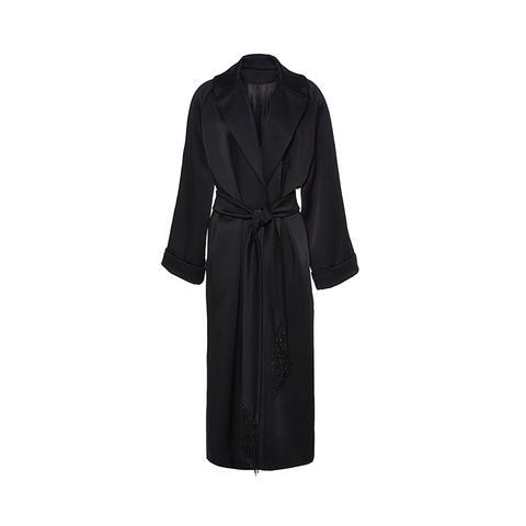 Satin Robe Coat