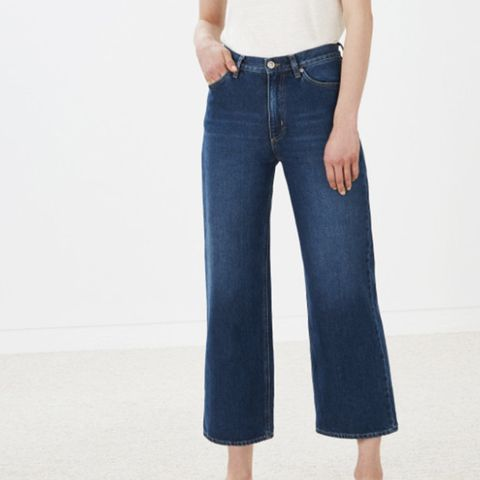 Caron Jeans Cropped Wide