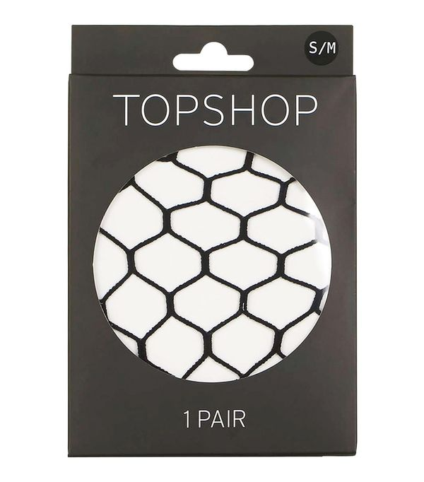 Rules for wearing tights: Topshop Supersize Fishnet Tights