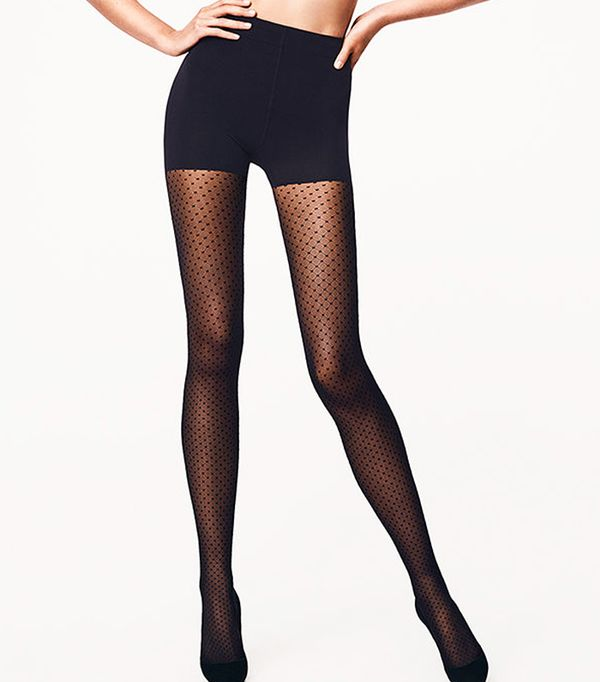 Rules for wearing tights: Wolford Dots Control Top Tights