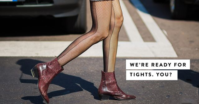 The New Rules for Wearing Tights