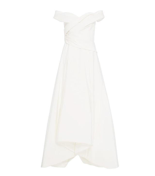 J.Mendel M'O Exclusive Off-The-Shoulder Gown