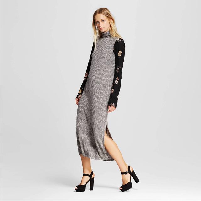 Who What Wear Women's Turtleneck Dress