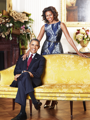 This Is How the Obama Family Decorated the White House