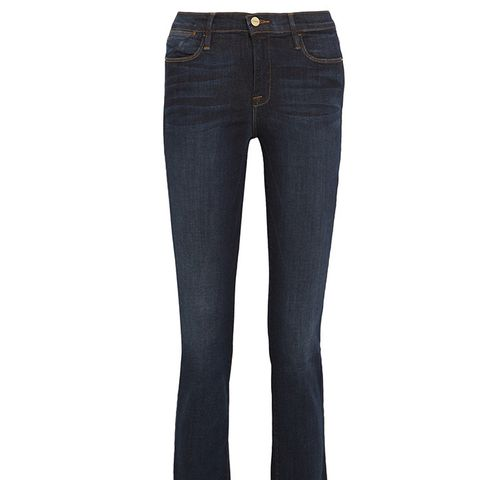 Le High Cropped Jeans