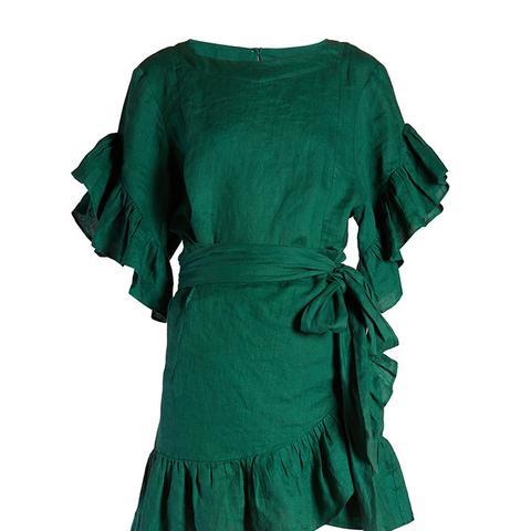 Delicia Ruffled Mini Dress