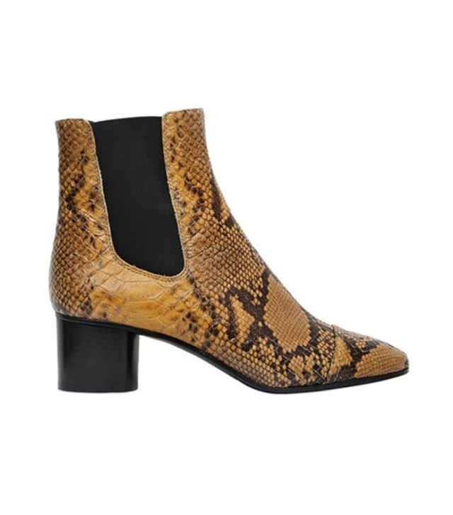 Isabel Marant 50MM Danae Embossed Leather Boots