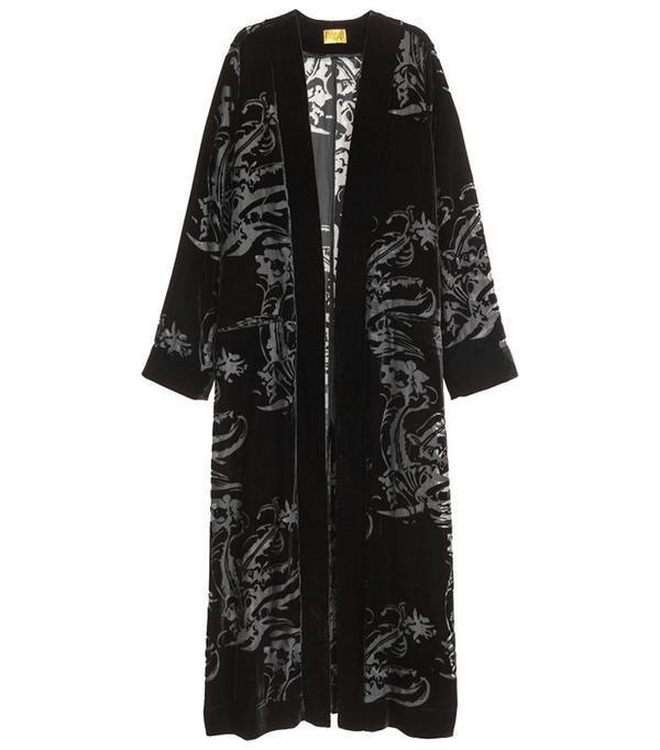 H&M Velvet Kimono