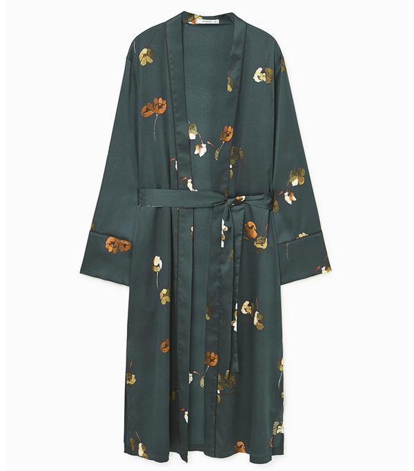 Mango Printed Robe