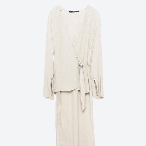 Jacquard Kimono