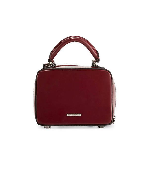 Rebecca Minkoff Leather Box Crossbody Bag