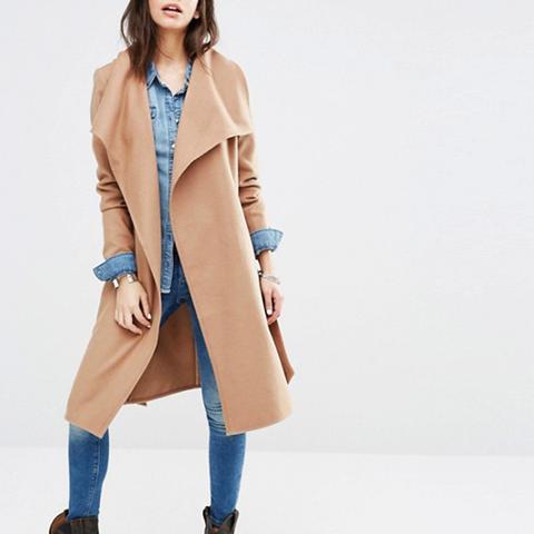 Soft Wrap Coat