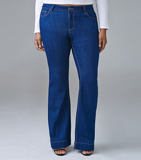 Forever 21 Plus Size Classic Flared Jeans
