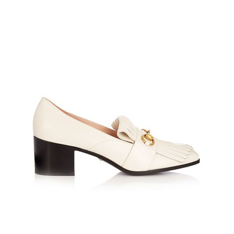 Polly Fringed Leather Loafers