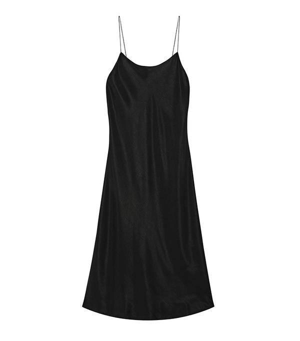 Helmut Lang Washed-Polin Dress