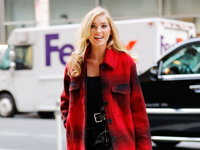 5 Perfect Outfits Spotted at the Victoria's Secret Model Fittings