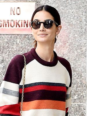 You Can Recreate Lily Aldridge's Jeans With One Simple DIY