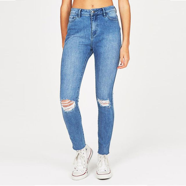 Lee Lola Blue Jeans
