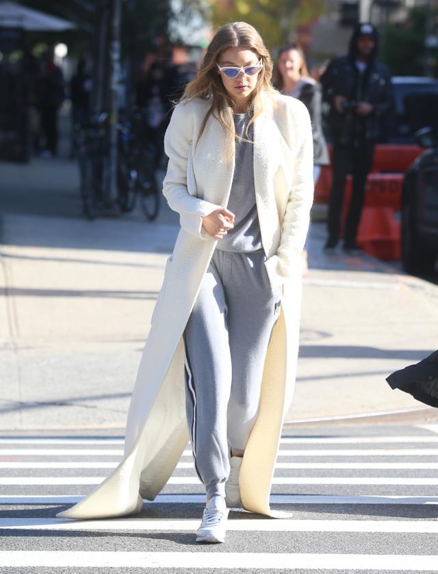 Gigi Hadid Olivia von Halle Missy London Sweat Suit