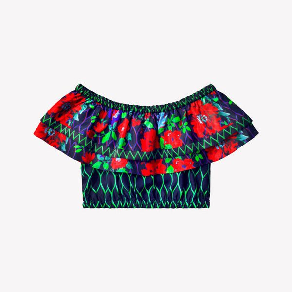 Kenzo x H&M, Off-the-Shoulder Top, ($69)