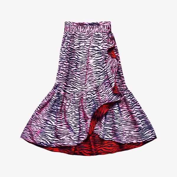 Kenzo x H&M, Reversible Silk-Blend Skirt, ($139)