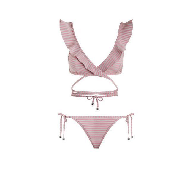 Zimmermann Caravan Stripe Bikini