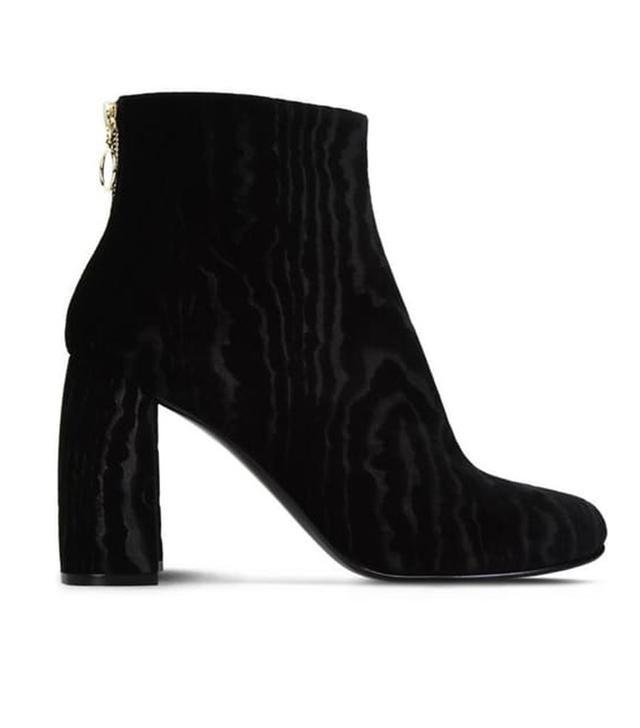Stella McCartney Black Velvet Boots