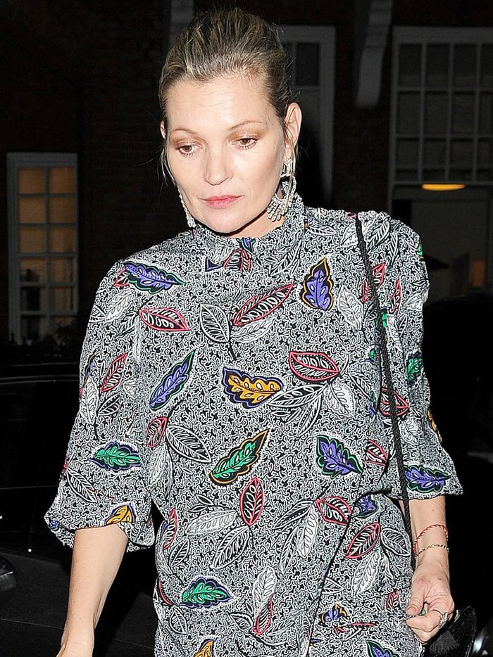 Kate Moss Makes a Strong Case for This Tricky Trend