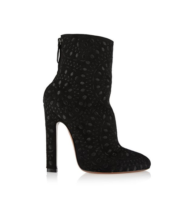 Alaia Embroidered Ankle Boot