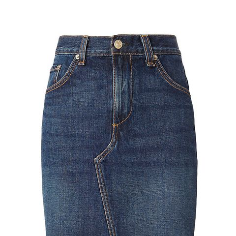 Eddy Dive Denim Skirt