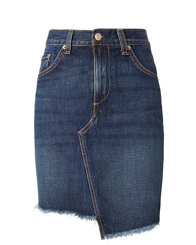 Rag & Bone Eddy Dive Denim Skirt