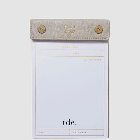Mist Gray Message Pad