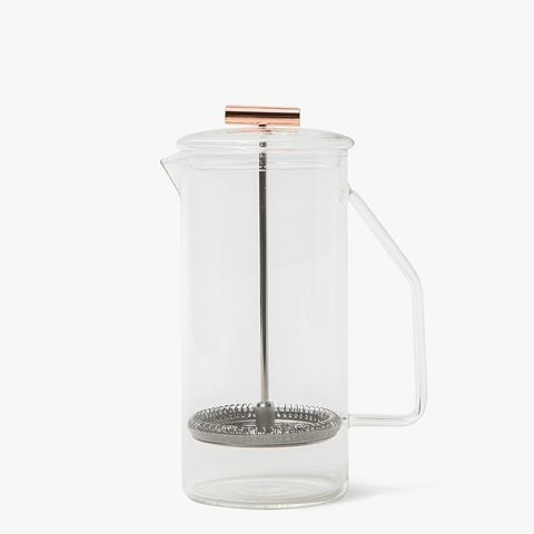 Glass French Press in Clear