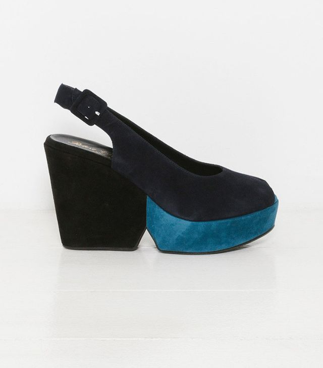 Robert Clergerie Dylanal Color Block Wedge