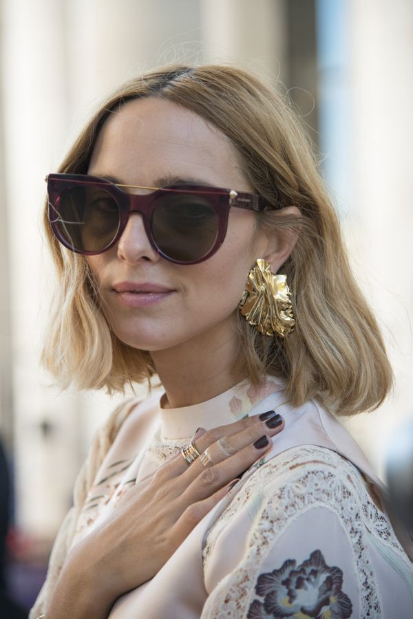 Your new mission? To build up your collection of sunglasses and oversized earrings.