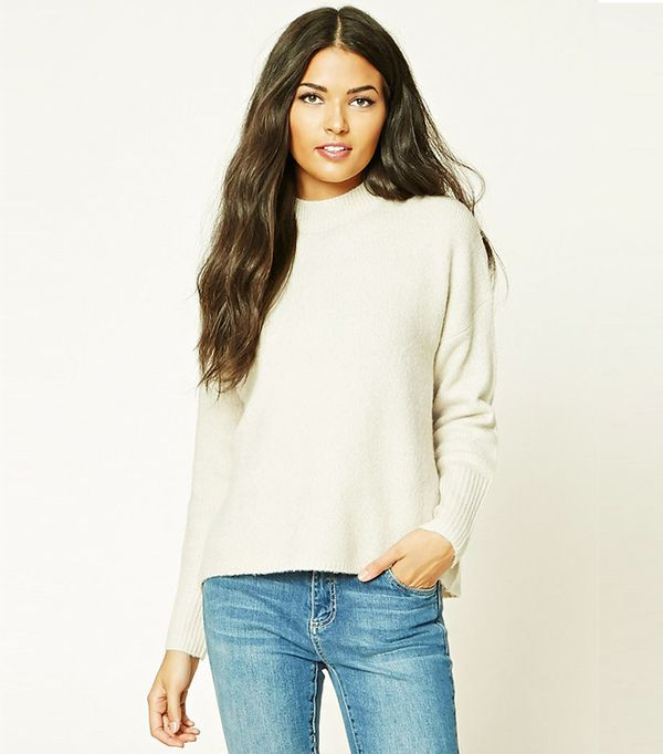 Forever 21 Contemporary Dolman Sweater