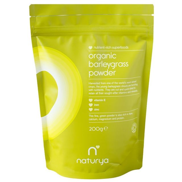 How to cure a cold: Naturya Organic Barley Grass Powder