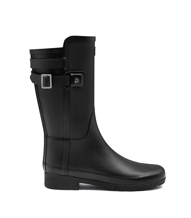 Hunter Original Short Refined Back Strap Rain Boot