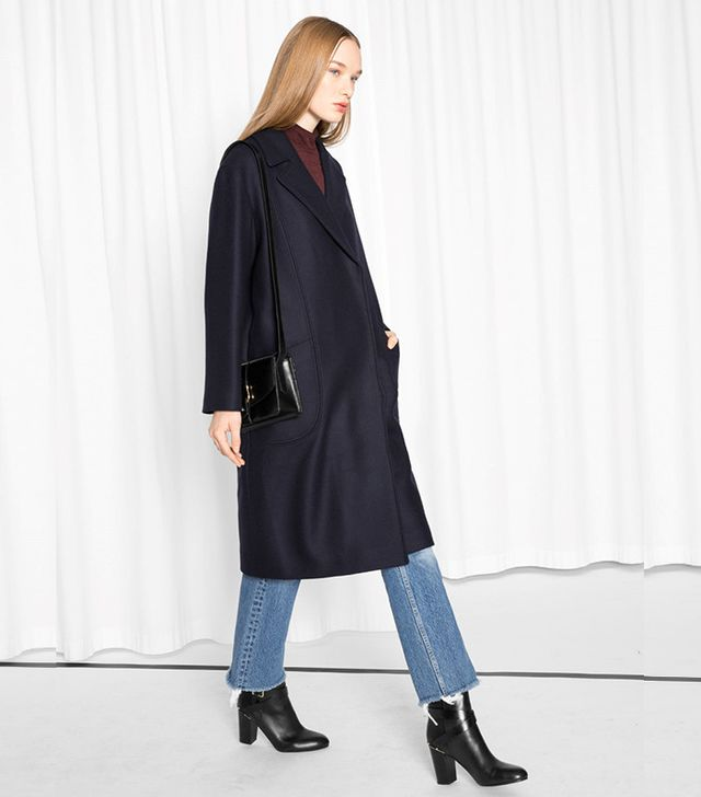 & Other Stories Oversized Wool Coat