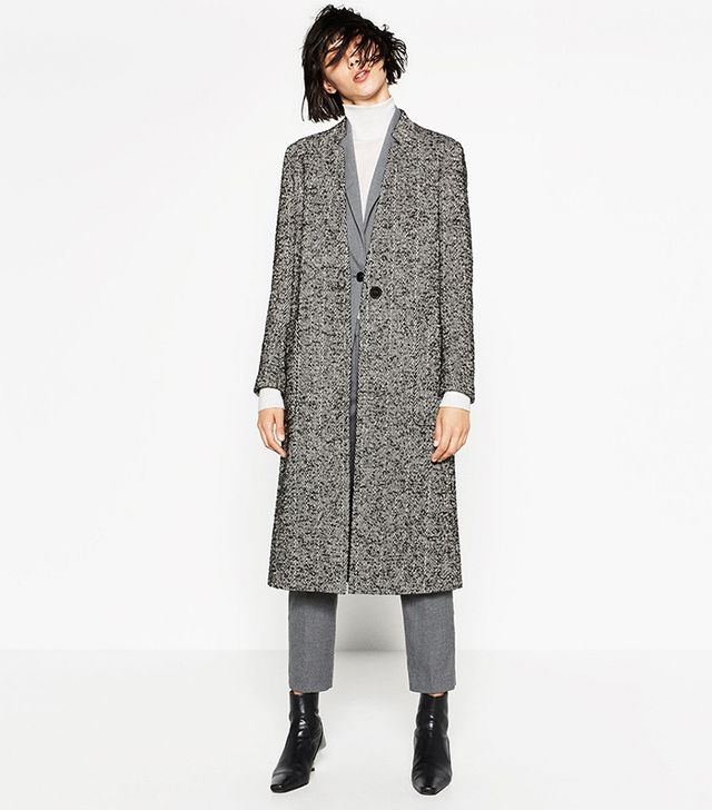 Zara Wool Maxi Coat