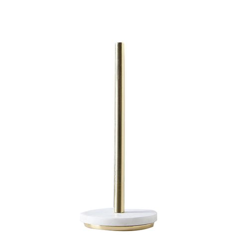 Marble & Metal Paper Towel Holder