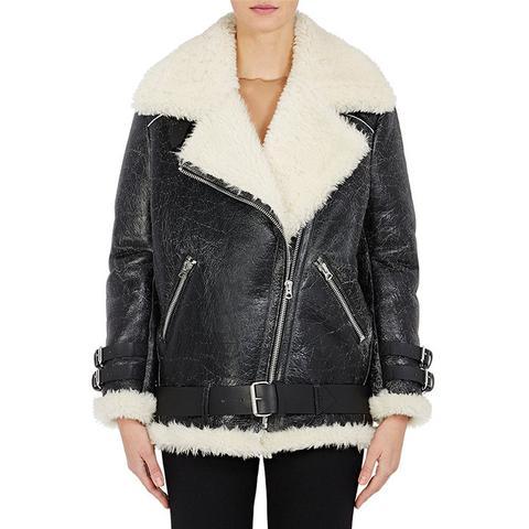 Velocite Leather Moto Jacket