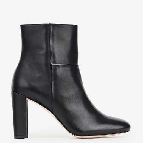 Tallulah Leather Booties