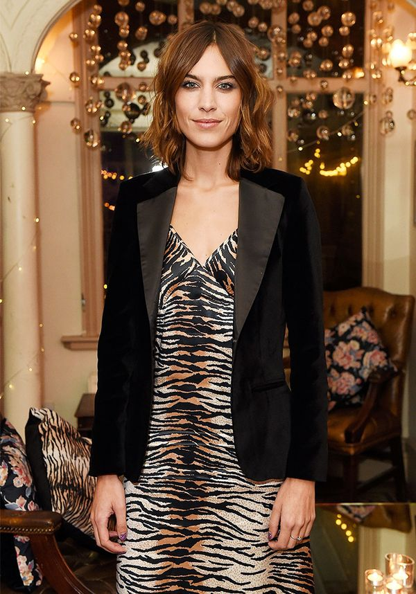 """Stick to the classics and you can't ever go wrong."" — Alexa Chung to TimeOut"